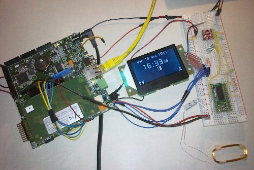 Smart Time Recorder and Access Control device