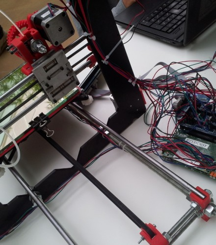 Remoted 3D printer with Octoprint