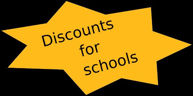 discounts for schools