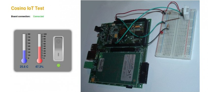 Internet-of-things via MQTT