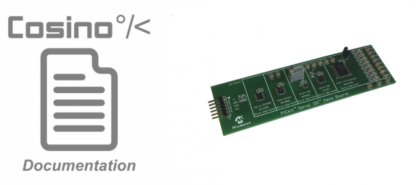 Managing the I2C sensors board PICkit