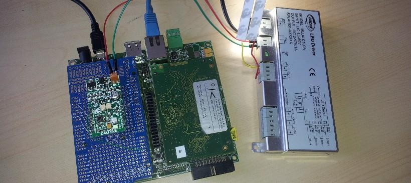 DALI master controller with Cosino