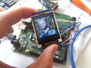 Rodolfo Giometti on ST7735 TFT LCD