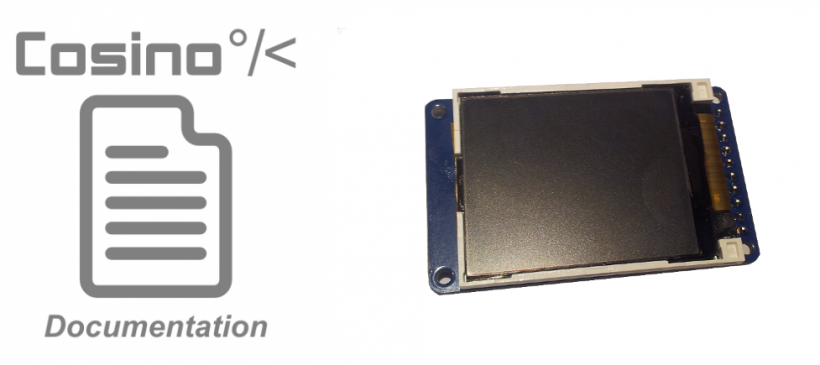 Managing the TFT LCD display controller ST7735